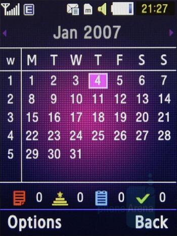 Calendar - Samsung BEATs Preview