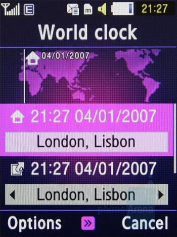 World clock - Samsung BEATs Preview