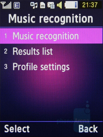 Music recognition - Samsung BEATs Preview