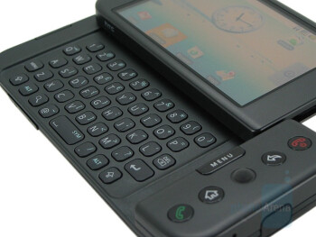 QWERTY keyboard - T-Mobile G1 Review
