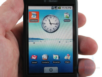 Display - T-Mobile G1 Review