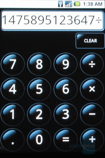 Calculator - T-Mobile G1 Review