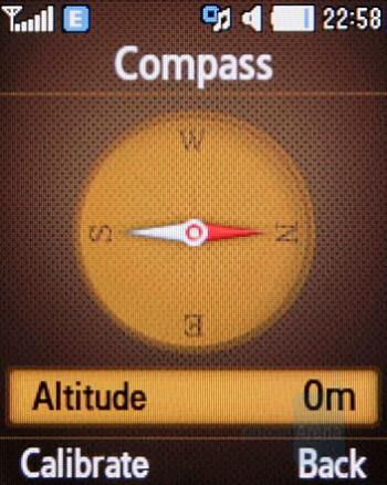 Compass - Samsung B2700 Preview