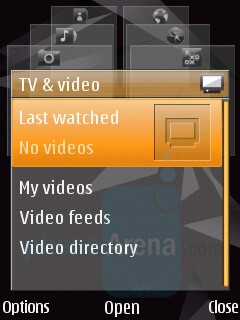Multimedia menu - Nokia N85 Review