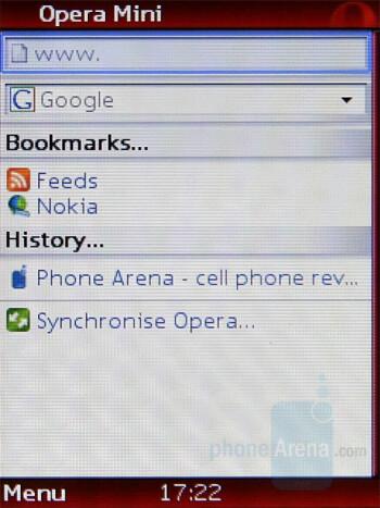 Opera Mini - Nokia 5220 XpressMusic Review