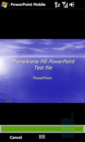PowerPoint - HTC Touch HD Review