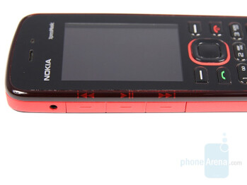 Music controls - Nokia 5220 XpressMusic Review