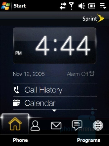 Home - HTC Touch Pro CDMA Review