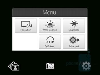 Camera interface - HTC Touch Pro CDMA Review