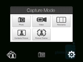 Camera interface - HTC Touch Pro CDMA Review