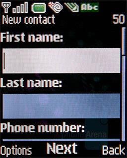 Phonebook - Nokia 7070 Prism Review