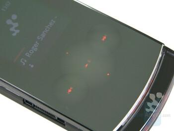 Music keys - Sony Ericsson W980 Review
