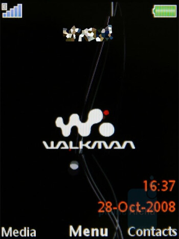 Homescreen - Sony Ericsson W980 Review