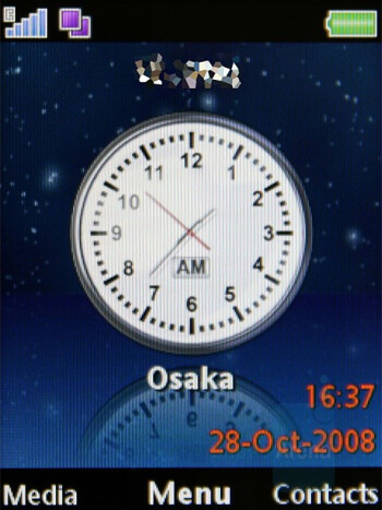Standby World - Homescreen - Sony Ericsson W980 Review