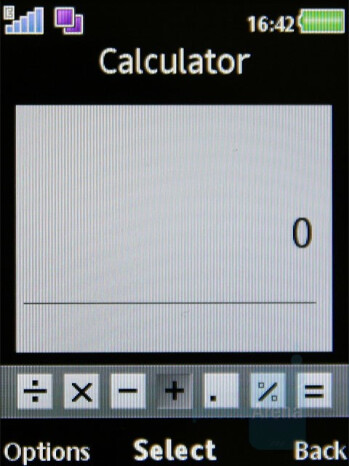 Calculator - Organizer - Sony Ericsson W980 Review