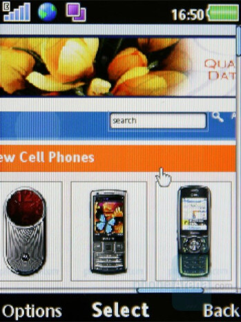 Internet Browser - Sony Ericsson W980 Review