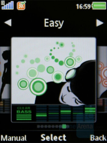 Equalizer - Sony Ericsson W980 Review