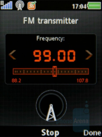 FM transmitter - Sony Ericsson W980 Review