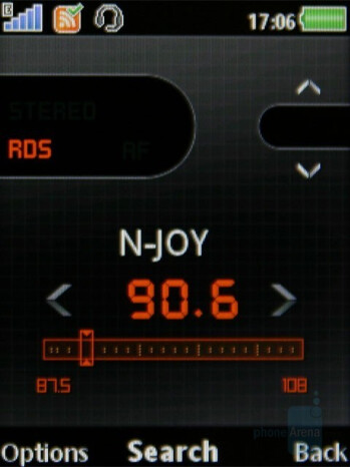FM Radio - Sony Ericsson W980 Review
