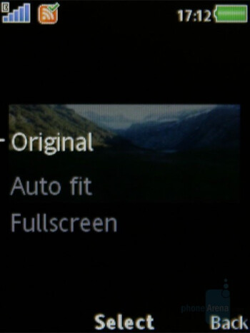Video playback - Sony Ericsson W980 Review