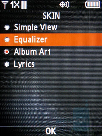 Music Player - Samsung Sway Review