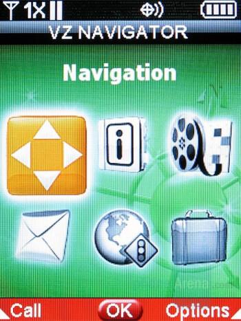 VZ Navigator - Samsung Sway Review