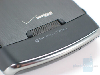 Back side - BlackBerry Storm Review