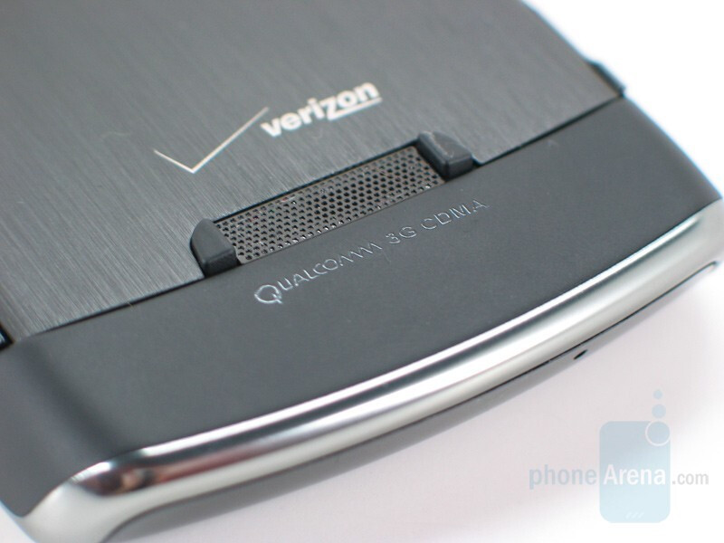 Back side - BlackBerry Storm Review