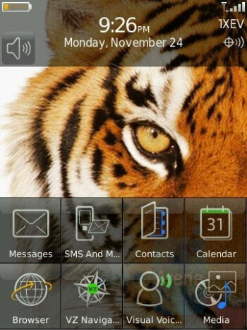 Standby - BlackBerry Storm Review