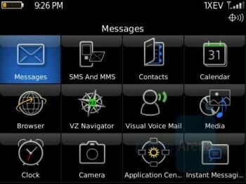 Landscape - BlackBerry Storm Review