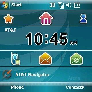 Home - Homescreen - Samsung Epix Review