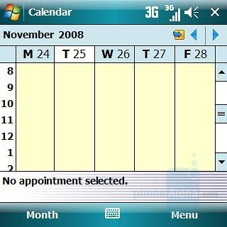 Calendar - Samsung Epix Review