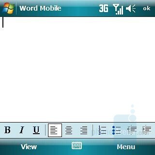 Word Mobile - Samsung Epix Review