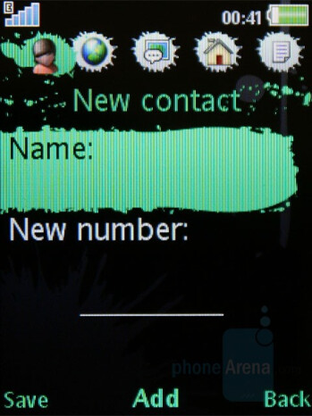 Phonebook - Sony Ericsson W595 Review
