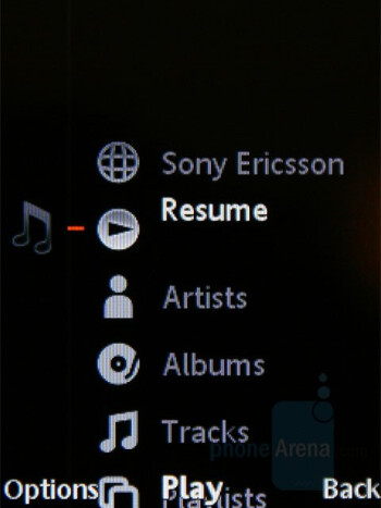 Music Player - Sony Ericsson W595 Review