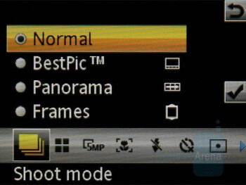 Camera Interface - Sony Ericsson W902 Review
