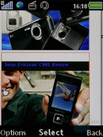 Internet Browser - Sony Ericsson W902 Review
