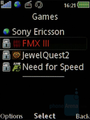 Games - Sony Ericsson W902 Review