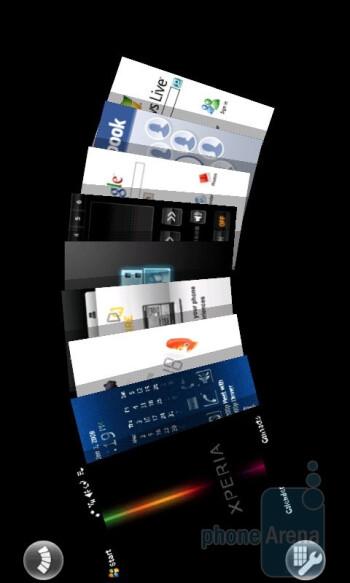 Panels - Sony Ericsson Xperia X1 Review