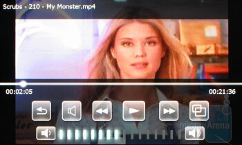 Video Player - Sony Ericsson Xperia X1 Review