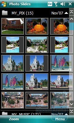 Photo Slides - Samsung Omnia CDMA Review