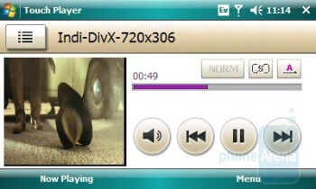 Video Playback - Samsung Omnia CDMA Review