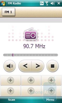 FM Radio - Samsung Omnia CDMA Review