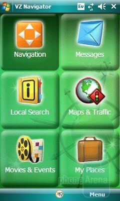 VZ Navigator - Samsung Omnia CDMA Review