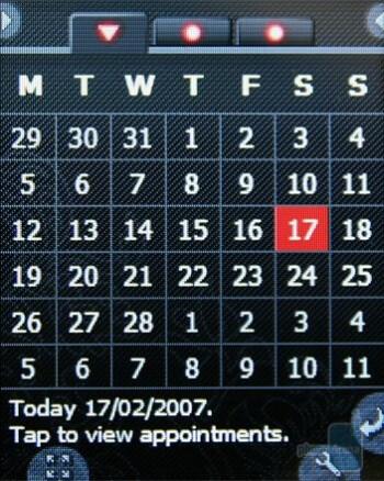 Calendar - Neonode N2 Review
