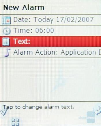 New Alarm - Neonode N2 Review