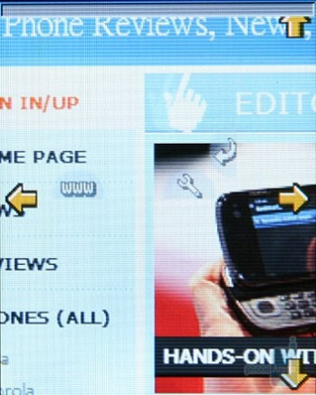 Internet browser - Neonode N2 Review