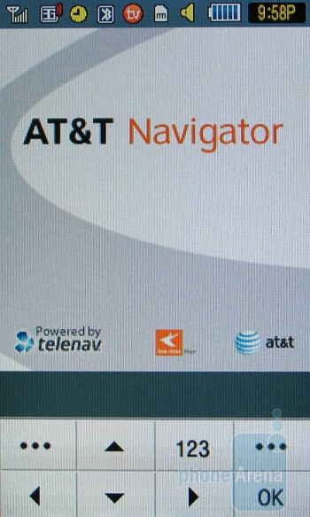 AT&T Navigator - Samsung Eternity Review