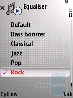 Music player - Nokia E66 Review