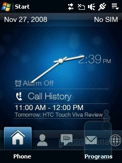 Home - HTC Touch Viva Review